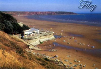 Sunny Filey Seafront